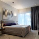Актуальні новинки в дизайні штор для спальні