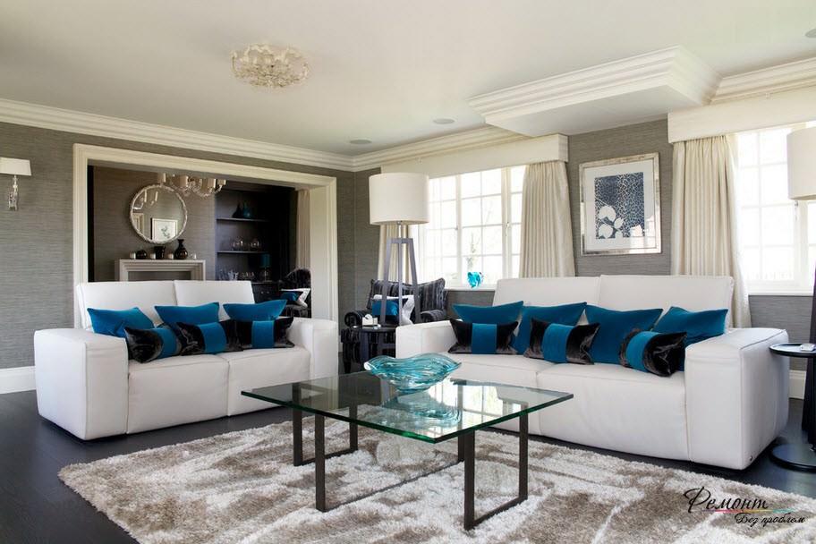 какого цвета сделать пол в гостиной