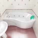 Асиметричний стиль ванної та його особливості