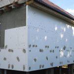 Будинок з бруса: утеплення стін зовні
