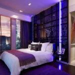Психологія фіолетового кольору в інтер'єрі спальні