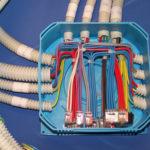 Схема з'єднання проводів в розподільній коробці