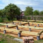 Будуємо фундамент під дерев'яний будинок своїми руками