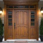 Дерев'яні вхідні двері та їх надійність