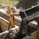 Виконання заливки фундаменту для будинку