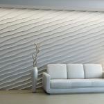 Гіпсові декоративні панелі для стін: характеристики та способи монтажу