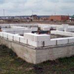 Фундамент для будинку з піноблоків своїми руками