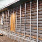 Утеплення стін в дерев'яному будинку