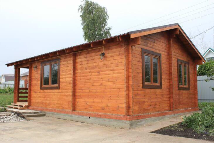 Чем обработать деревянный дом снаружи?