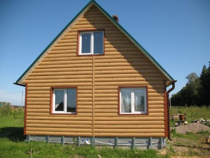 Чем обшить дом снаружи из сруба или газобетона