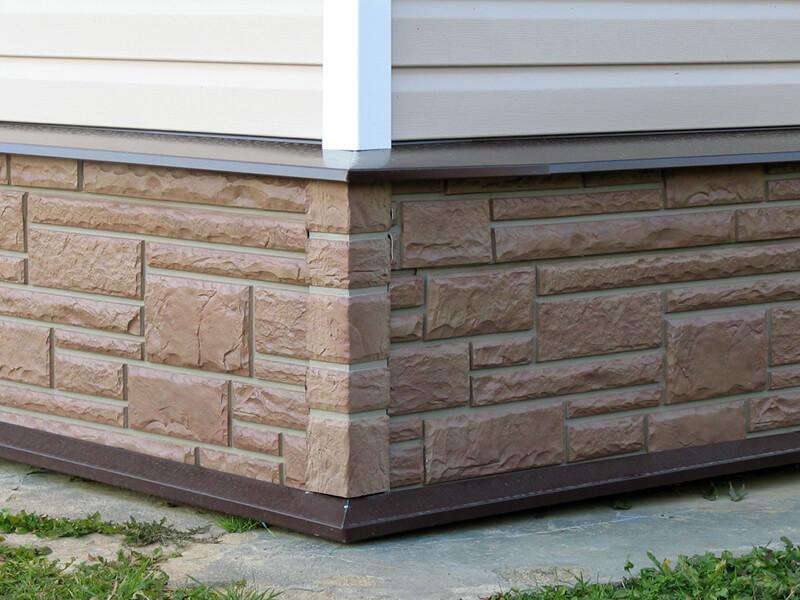 Цокольный фасадный сайдинг – просто и надёжно