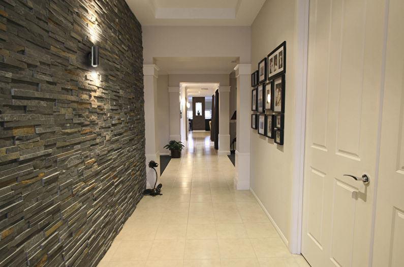 Декоративный камень в интерьере: идеи для дизайна отдельных комнат