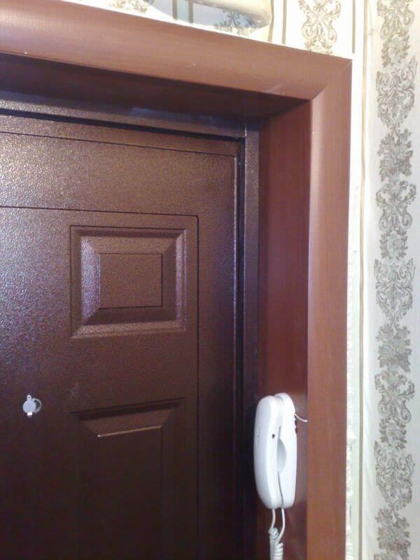 Делаем дверные откосы