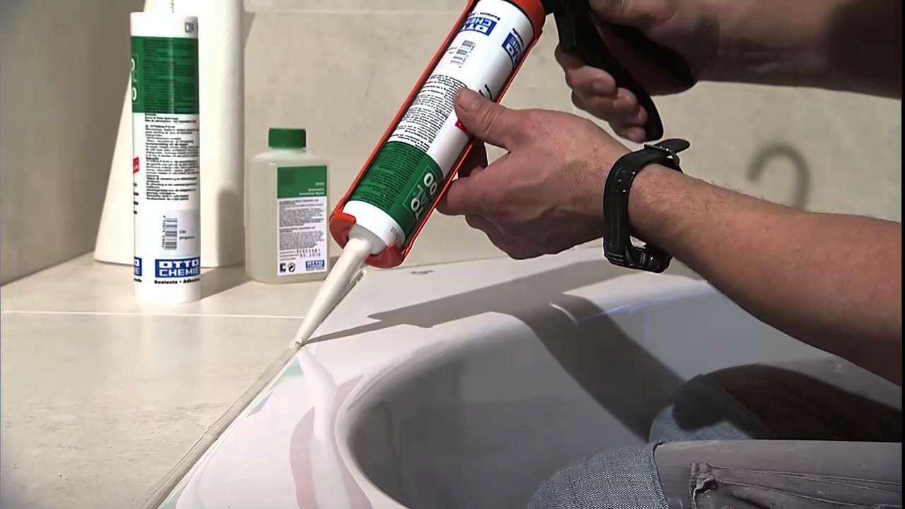 Делаем качественную герметизацию ванны со стеной