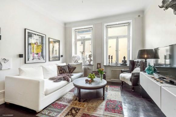 Дизайнерские решения для однокомнатной квартиры 35 кв.метров: 42 фото идеи