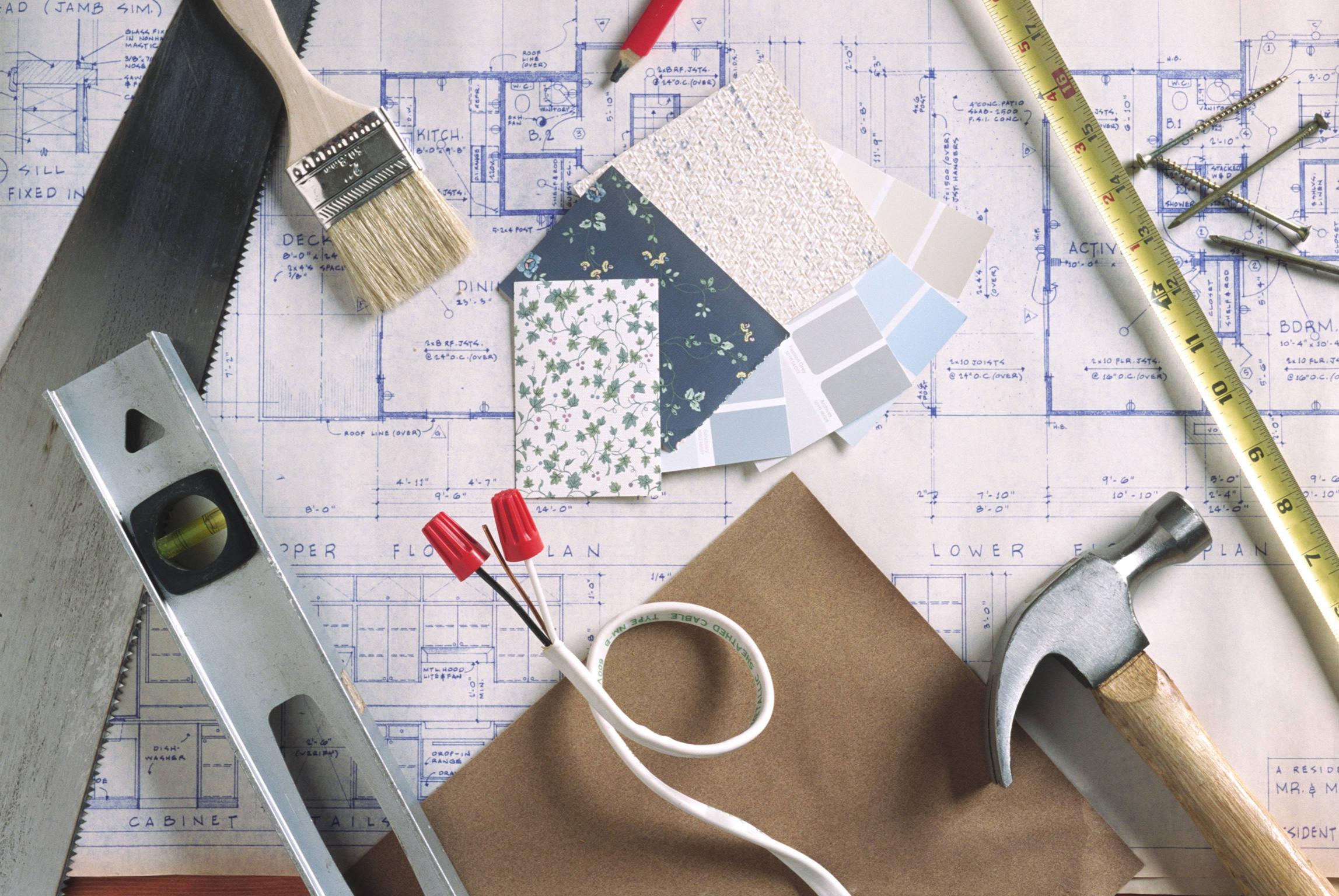 Для чего нужен проект с этапами ремонта и из чего он состоит?