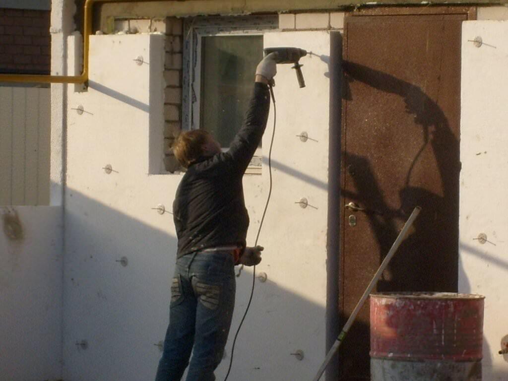 Эффективное утепление (теплоизоляция) фасада