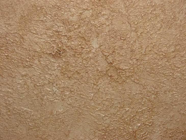 Фактурная краска для стен: техника выполнения работ своими руками