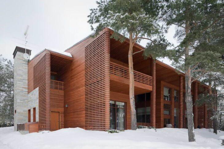 Фасады деревянные, реставрация или новая отделка