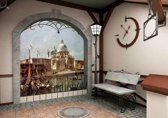 Фреска на стену: 45 фото вариантов оформления