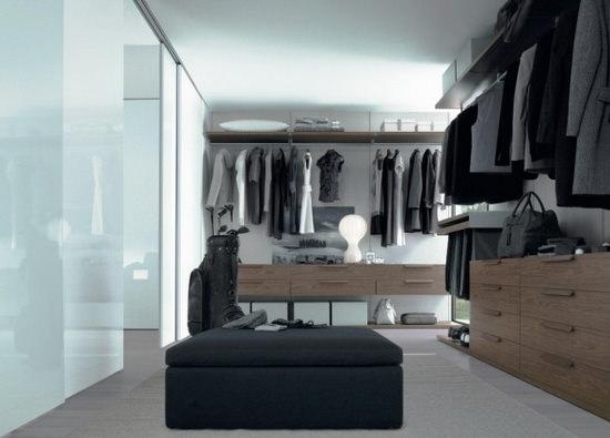 Гардеробные комнаты: дизайн проекты, фото и технология обустройства