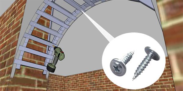 Инструкция по изготовлению арки из гипсокартона своими руками