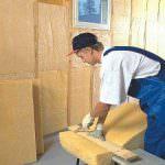 Інструкція по утепленню каркасних будинків за допомогою пінопласту і мінеральної вати