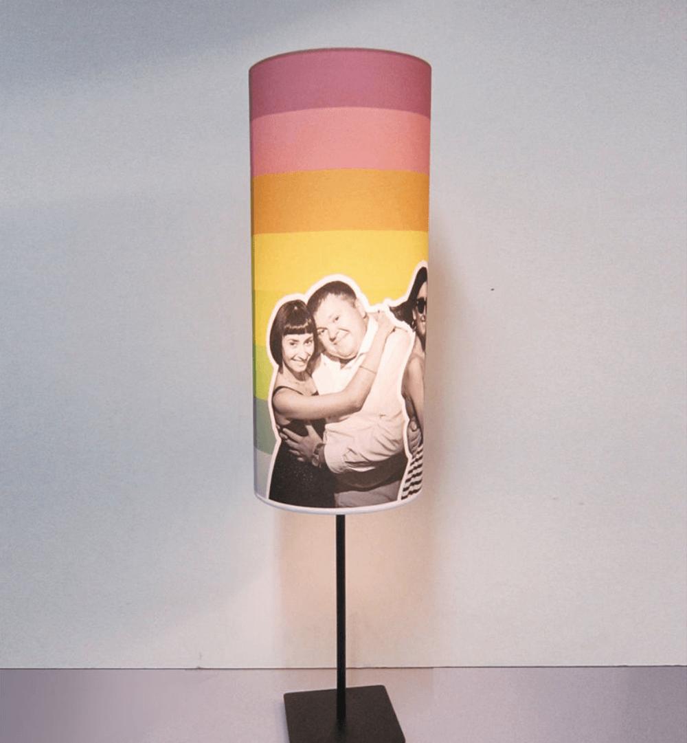 Изготовление эксклюзивного абажура для лампы