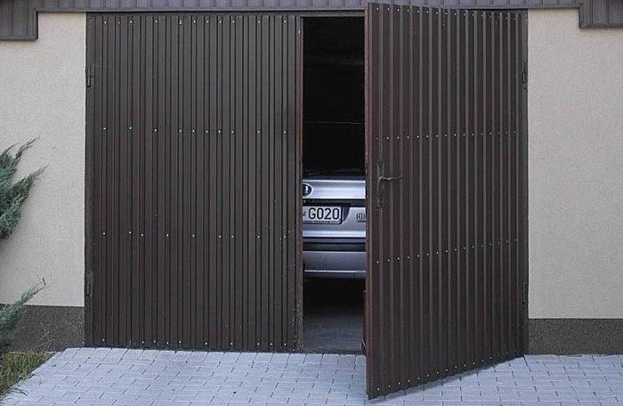 Изготовление и монтаж гаражных ворот своими руками