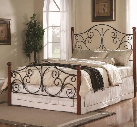 Изящные кованые кровати — украшение вашего дома