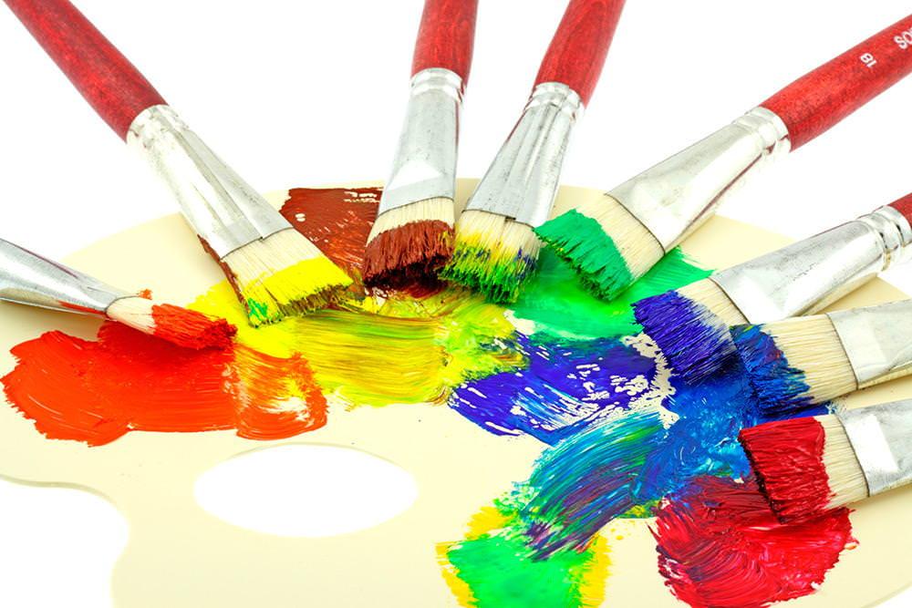 Как добиться нужного цвета краски
