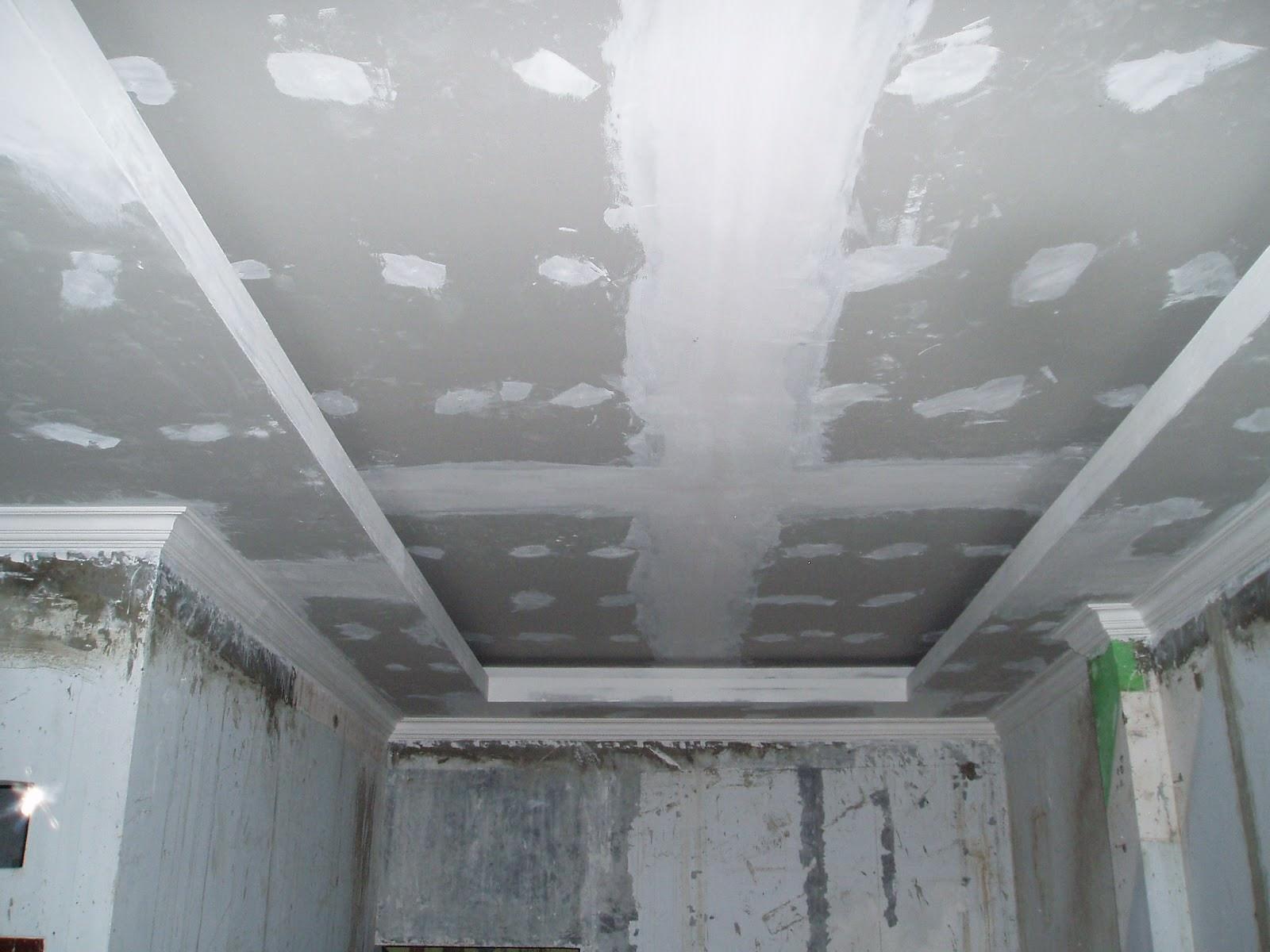 Как, где и зачем нужно использовать шпаклевку потолка