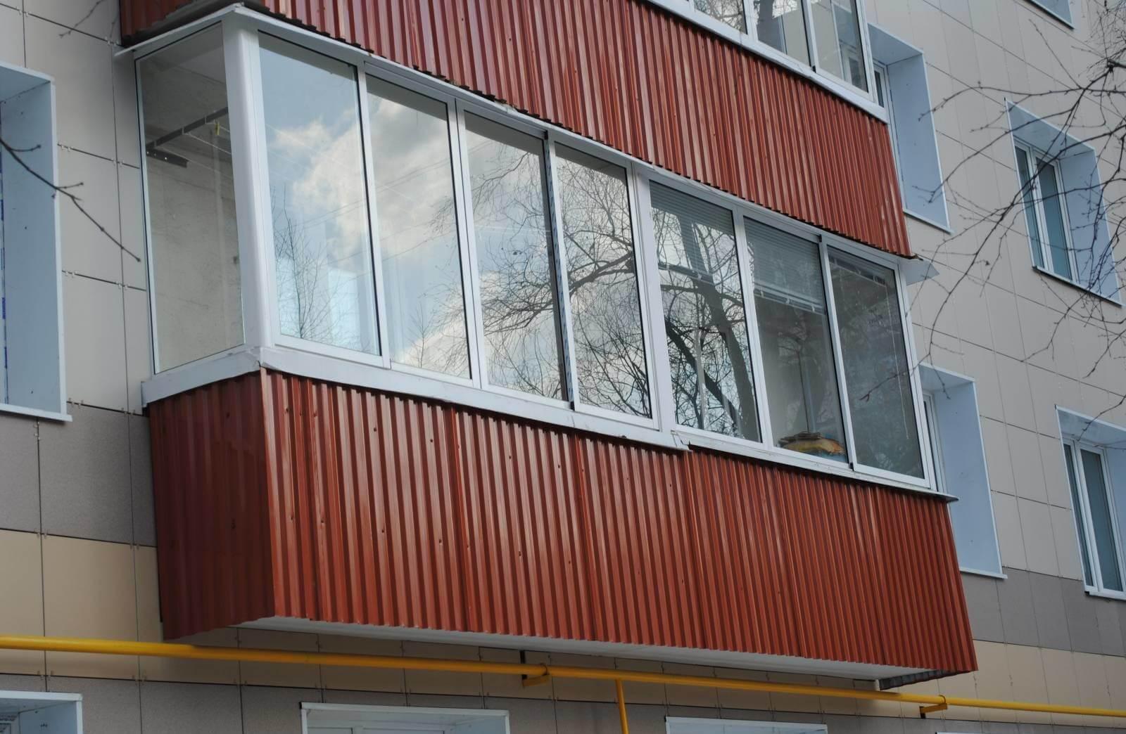 Как обшить балкон гипсокартоном: правила и советы