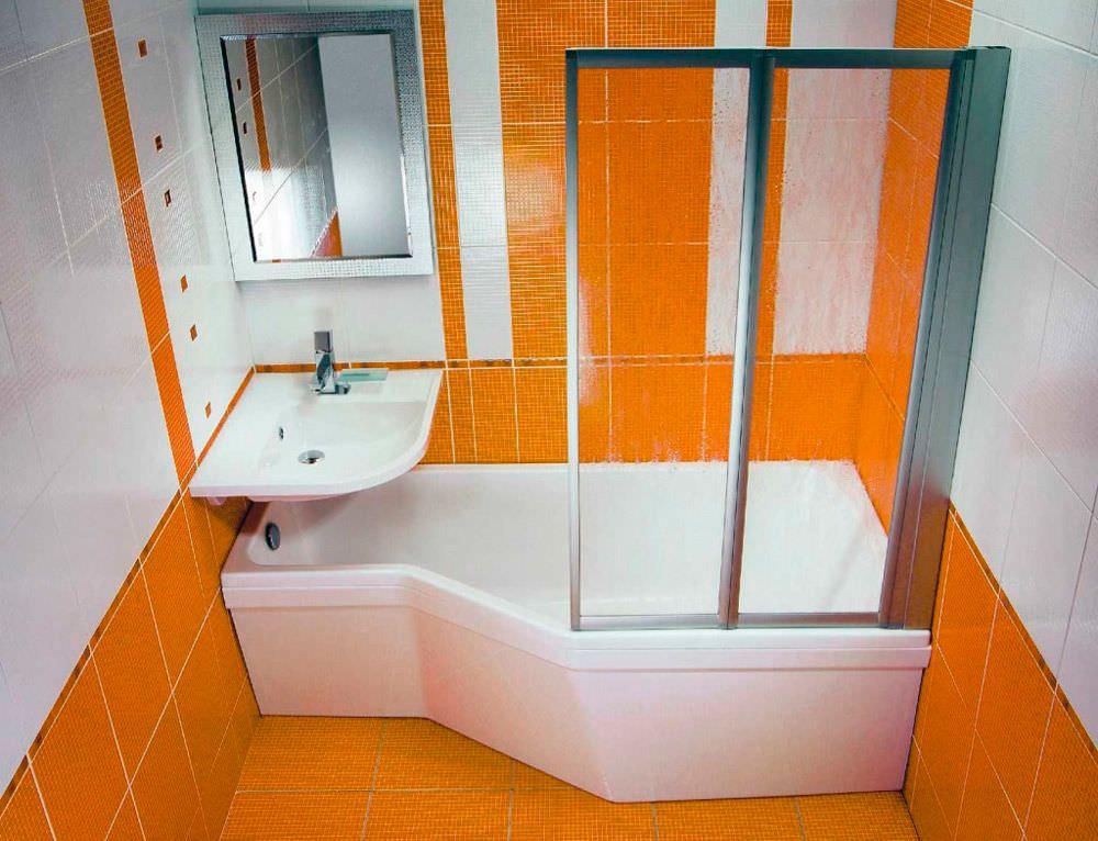 Как оформить маленькую ванную комнату