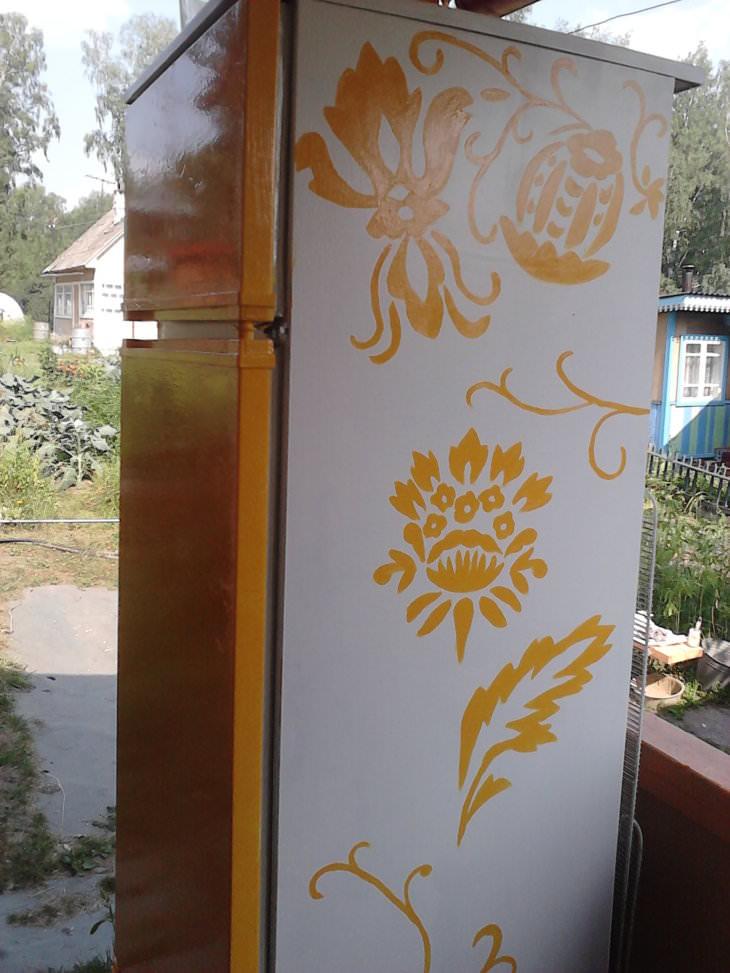 Как покрасить холодильник своими руками?