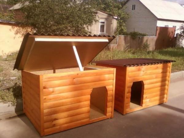 Как построить будку для вашей собаки своими руками