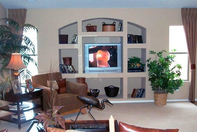 Как построить нишу в стене в квартире