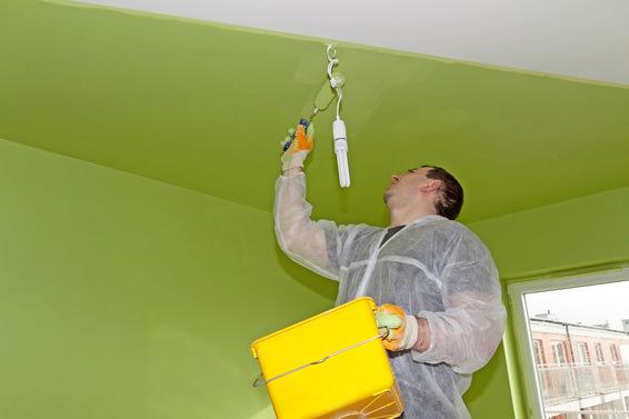 Как правильно покрасить стены, пол и потолок валиком