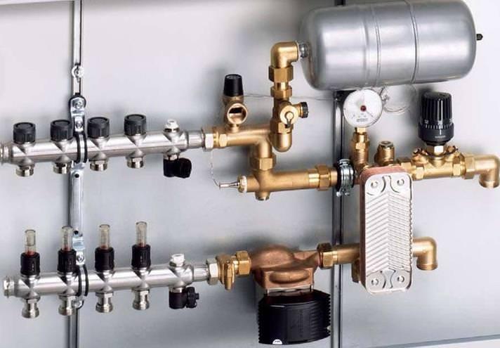 Как самостоятельно подключить теплый пол к терморегулятору?
