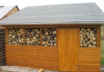 Как самостоятельно построить дровяник на даче своими руками инструкция с фото
