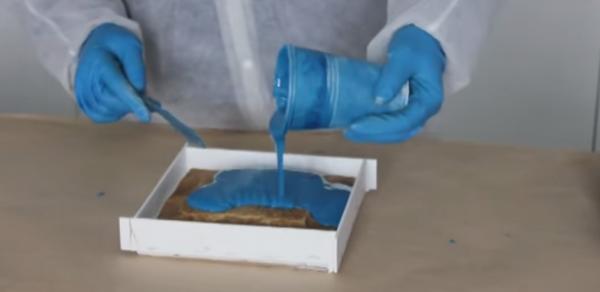 Как сделать формы для изготовления тротуарной плитки из силикона – инструкция