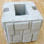 Як зробити гарний паркан з каменю у себе на дачі