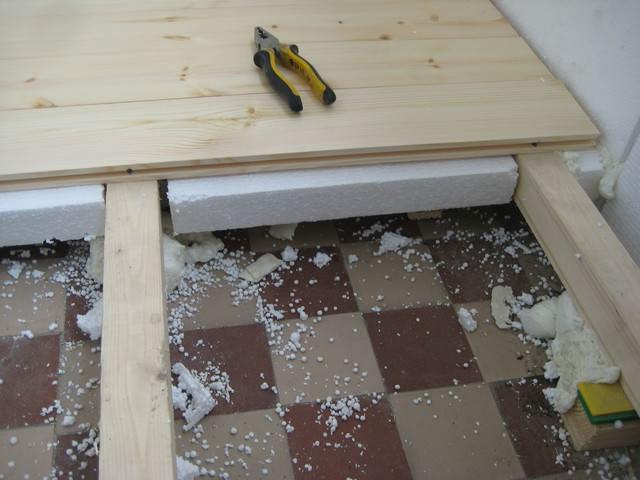 Как сделать пол на балконе – пошаговая инструкция