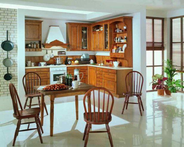 Как создать неповторимый интерьер вашей кухни в стиле кантри?