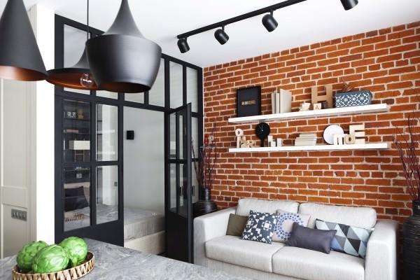 Как создать стиль лофт в интерьере маленькой квартиры для каждой комнаты