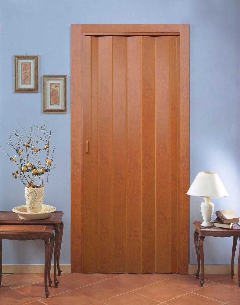 Как установить дверь-гармошку
