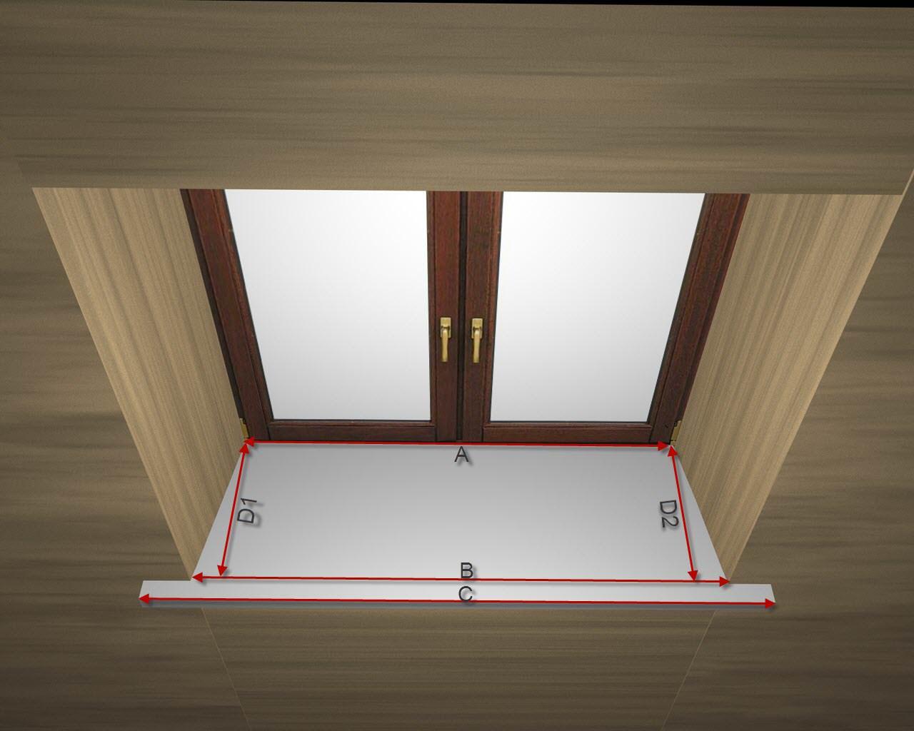 Как установить подоконники – пошаговая инструкция