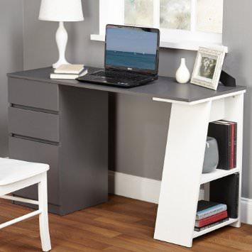 Как выбрать компьютерные столы с полками и ящиками: фото моделей и рекомендации