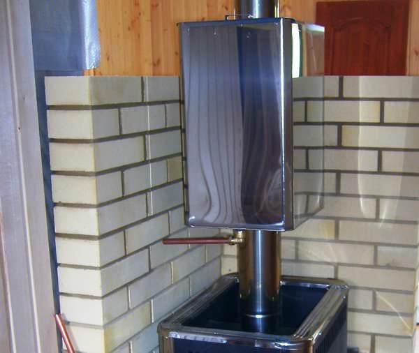 Как выбрать печь для бани с баком для воды