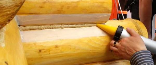 Как выбрать подходящий шовный герметик для обработки дерева и срубов